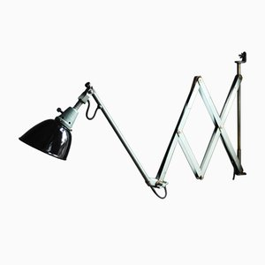 Lampada grande nr. 112 vintage a forbice di Curt Fischer per Midgard