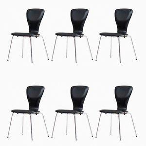 Nikke Dining Chairs by Tapio Wirkkala for Asko, 1950s, Set of 6