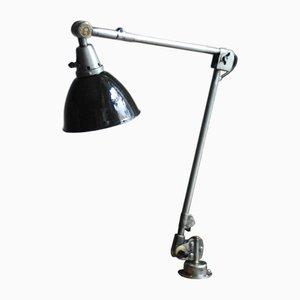 Lampe de Bureau Vintage en Émail par Curt Fischer pour Midgard
