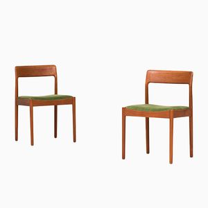 Sedie da pranzo vintage di Norgaard, anni '60, set di 6