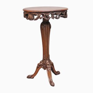 19th-Century French Walnut Occasional Table, 1880s
