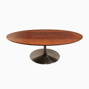 Tavolino ovale di Pierre Paulin per Artifort