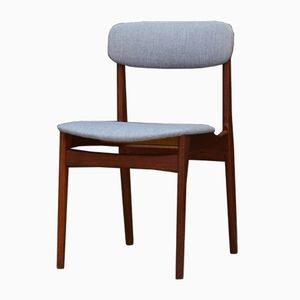 Skandinavischer Vintage Beistellstuhl aus Teak