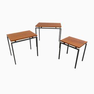 Tavolini ad incastro Mimi della serie Japanese di Cees Braakman per Pastoe, Giappone