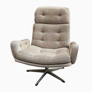 Skandinavischer Sessel aus Wolle, 1970er