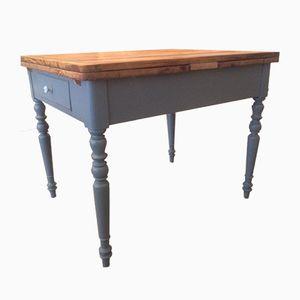 Antique Extendable Grey Table