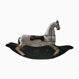 19th Century Swedish Rocking Horse