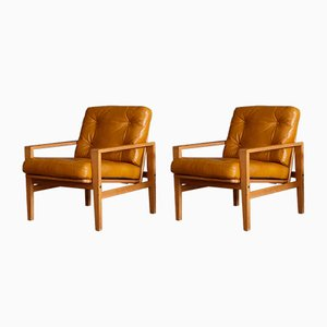 Swedish Easy Chairs, 1965, Set of 2