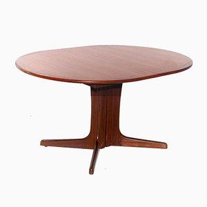 Tavolo da pranzo grande in teak di Niels Otto Moller, anni '60