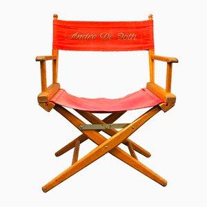 Vintage Andree De Toth Directors Chair, 1950s