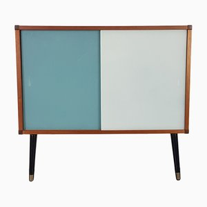 Vintage Teak and Glass Cabinet