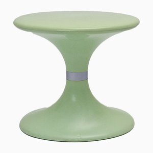 Vintage Peppermint Plastic Senna Stool from Carrara & Matta