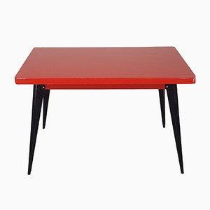 Modell 55 Tisch von Jean Pauchard für Tolix, 1950er