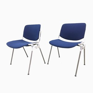 Vintage DSC 106 Stackable Chairs by Giancarlo Piretti for Castelli, 1965, Set of 2