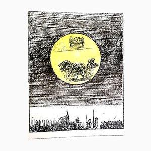 Litografía The Soldier de Max Ernst, 1972