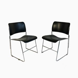 40/4 Chairs by David Rowland for General Fireproofing, 1950s, Set of 4