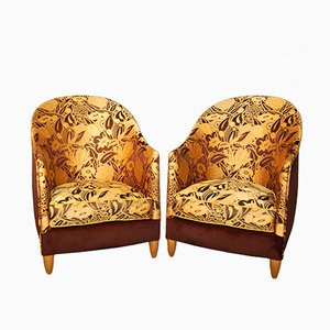 Art Deco Armchairs by Maurice Dufrêne, 1925, Set of 2