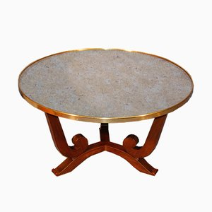 Table Basse Vintage par Jules Leleu, 1950s