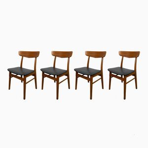 Esszimmerstühle von Farstrup Møbler, 1960er, 4er Set