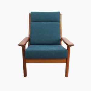Dänischer Sessel aus Teak von Juul Kristensen für Glostrup, 1960er