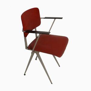 Vintage Armlehnstuhl aus Metall