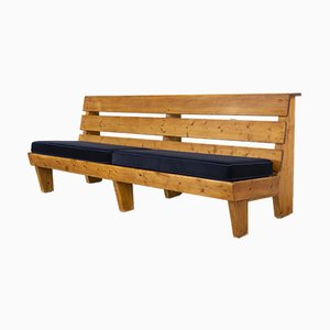Vintage Bench by Charlotte Perriand, 1950s