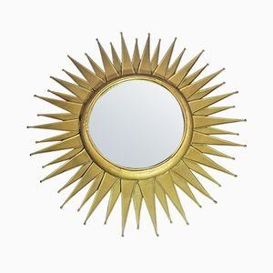 Vintage Sunburst Mirror, 1950s