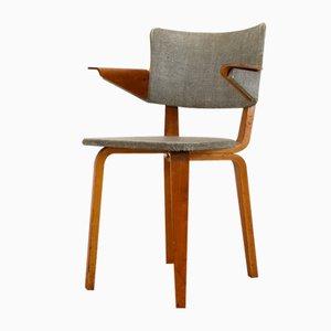 Vintage Armlehnstuhl aus Schichtholz von Cor Alons & J.C. Jansen für Den Boer, 1955