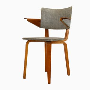 Vintage Plywood Armchair by Cor Alons & J.C. Jansen for Den Boer, 1955