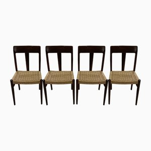 Dining Chairs by Niels Otto Moller, 1960s, Set of 4