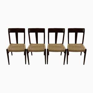Esszimmerstühle von Niels Otto Moller, 1960er, 4er Set