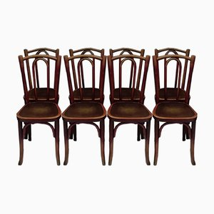 Bistro Chairs from Thonet, 1920s, Set of 8