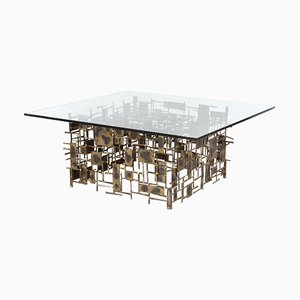Vintage Brutalist Coffee Table by Marc Creates