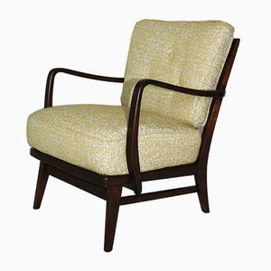 Mid-Century German Yellow Armchair, 1960s