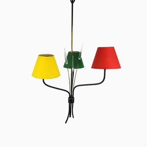 French Chandelier from Lunel, 1950s