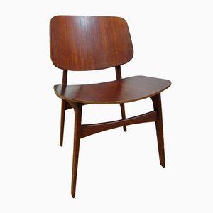 Model 155 Chairs by Borge Mogensen for Soborg Mobelfabrik, 1950s, Set of 6
