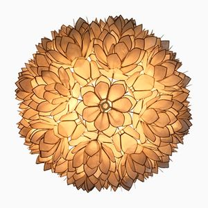 Flower Wall or Ceiling Lamp, 1970s