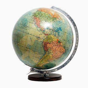 Globe Vintage en Verre Illuminé