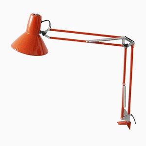 Rote Architektenlampe, 1970er