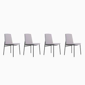 Chairs by Pierre Guariche for Les Huchers Minvielle, 1950s, Set of 4