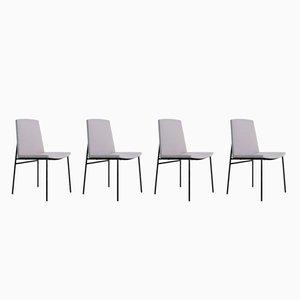 Stühle von Pierre Guariche für Les Huchers Minvielle, 1950er, 4er Set