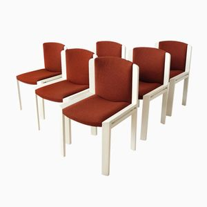 Vintage Chairs by Joe Colombo for Pozzi, 1965, Set of 6