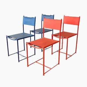 101 Spaghetti Stühle von Giandomenico Belotti für Alias, 1980er, 4er Set