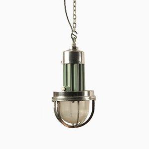 Lámpara colgante industrial coreana, años 60