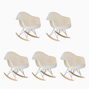 Mid-Century DSW Stühle von Charles & Ray Eames für Herman Miller, 5er Set