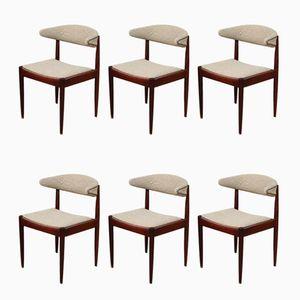 Sedie da pranzo Mid-Century, anni '50, set di 6