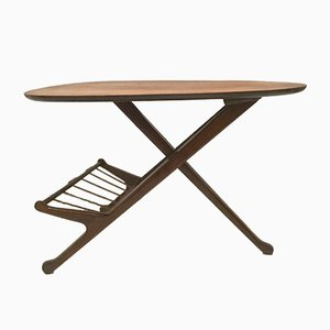 Petite Table d'Appoint Tripode, Italie, 1950s
