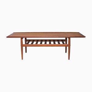 Tavolino da caffè Mid-Century di Grete Jalk per Glostrup