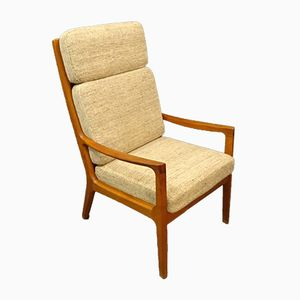 Teak Senator Chair by Ole Wanscher for Peter Jeppesen, 1960s