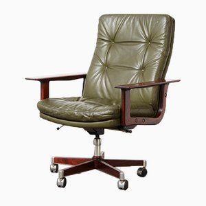 Executive Swivel Desk Chair by Arne Vodder for Sibast, 1960s
